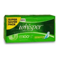 WHISPER ULTRA CLEAN LARGE XL 30.00 PADS PACKET