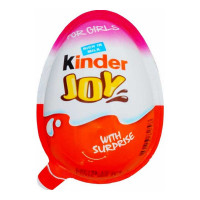 KINDER JOY CHOCOLATE FOR GIRLS 20 GM