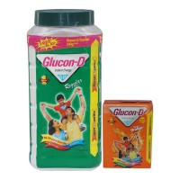 GLUCON D D REGULAR ENERGY DRINK 1.00 KG JAR