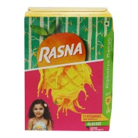 RASNA ALPHONSO MANGO FLAVOUR MAKES 12 GLASSES 1.00 NO BOX