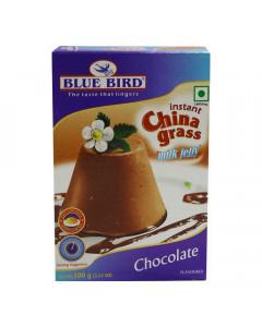 BLUE BIRD INSTANT CHINA GRASS MILK JELLY CHOCOLATE FLAVOUR BOX