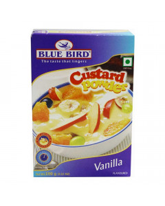 BLUE BIRD CUSTARD POWDER VANILLA FLAVOUR 100.00 GM BOX