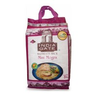 INDIA GATE MINI MOGRA RICE- 5.00 KG BAG