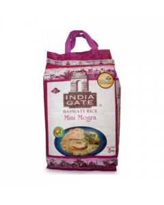 INDIA GATE MINI MOGRA RICE 5.00 KG BAG