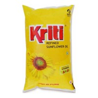 KRITI REFINED SUNFLOWER OIL 1.00 Ltr