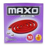 MAXO A GRADE MOSQUITO RED COIL 14.00 PCS BOX