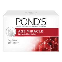 PONDS AGE MIRACLE WRINKLE CORRECTOR CREAM SPF18 PA++ 10.00 GM BOX