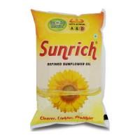 SUNRICH SUNFLOWER OIL 1.00 LTR PACKET