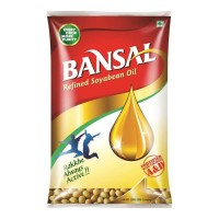 BANSAL SOYA OIL- 1.00 LTR PACKET