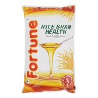 FORTUNE RICE BRAN OIL- 1.00 LTR PACKET