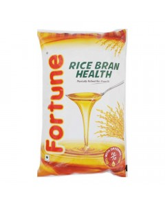 FORTUNE RICE BRAN OIL 1 LTR POUCH