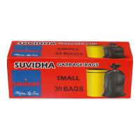 SUVIDHA GARBAGE BAGS SMALL (17 X 19) 30.00 PCS BOX
