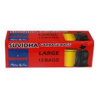 SUVIDHA GARBAGE BAGS LARGE (24 X 32) 15.00 PCS BOX