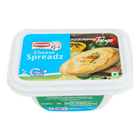 BRITANNIA CHEESE SPREADZ FOUR PEPPER TANGO 180 GM