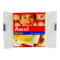 AMUL CHEESE SLICES 5 PCS 100 GM