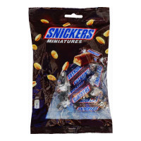 SNICKERS MINIATURES CHOCOLATE 150.00 GM PACKET