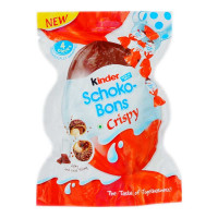 KINDER JOY SCHOKO BONS CRISPY(4 PIECES) 23.20 Gm Packet