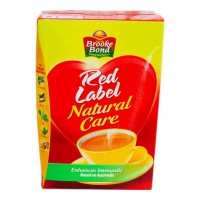 BROOKE BOND RED LABEL NATURAL CARE TEA 500 GM