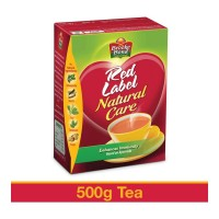 BROOKE BOND RED LABEL NATURAL CARE TEA 500.00 GM BOX