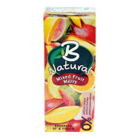B NATURAL MIXED FRUIT MERRY JUICE 200.00 ML TETRAPACK
