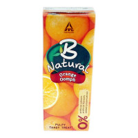 B NATURAL ORANGE OOMPH JUICE 200 ML