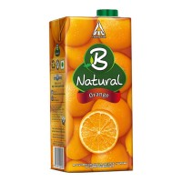 B NATURAL ORANGE JUICE 1.00 LTR TETRAPACK