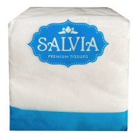 SALVIA WHITE TISSUE PAPER SERVIETTES 1 PLY 100.00 NO PACKET