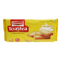 BRITANNIA TOASTEA PREMIUM BAKE RUSK 400.00 GM PACKET