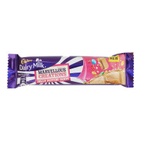 CADBURY DAIRY MILK MARVELLOUS CREATIONS JELLY POPPING CANDY 35.00 GM PACKET