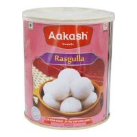 AAKASH SWEET RASGULLA 1.00 Kg Tin