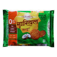 PATANJALI NARIYAL BISCUITS 300.00 GM PACKET