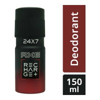 AXE RECHARGE+ 24X7 DEODORANT 150.00 ML BOTTLE