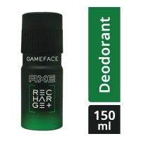 AXE RECHARGE+ GAMEFACE DEODORANT 150.00 ML BOTTLE