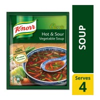 KNORR CLASSIC HOT & SOUR VEGETABLE SOUP 43.00 GM PACKET