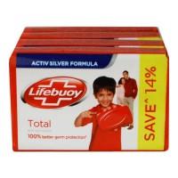 LIFEBUOY TOTAL SOAP 4 X 59.00 GM BAR