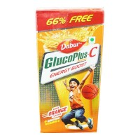 DABUR GLUCOPLUS-C ORANGE 125 GM