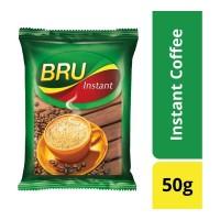 BRU INSTANT COFFEE 50 GM POUCH