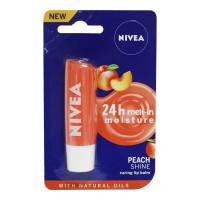 NIVEA PEACH SHINE LIP BALM 4.80 GM PACKET