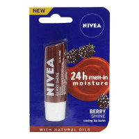 NIVEA BERRY SHINE LIP BALM 4.80 GM PACKET