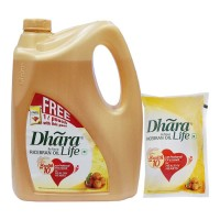 DHARA RICE BRAN  OIL 5.00 Ltr Jar