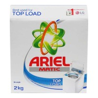 ARIEL MATIC TOP LOAD DETERGENT POWDER 2 KG