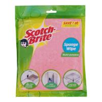SCOTCH BRITE SPONGE WIPE 20X 17.5 CM PACKET