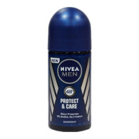 NIVEA MEN PROTECT & CARE ROLL ON DEODORANT 50.00 ML BOTTLE