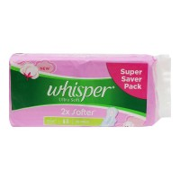 WHISPER ULTRA SOFT XL WINGS 30.00 PADS PACKET