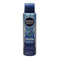 NIVEA MEN COOL KICK DEODORANT 150.00 ML BOTTLE