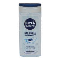 NIVEA MEN PURE IMPACT SHOWER GEL 250.00 ML BOTTLE