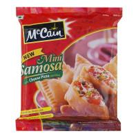 MCCAIN MINI SAMOSA CHEESE PIZZA STYLE 240.00 Gm Packet