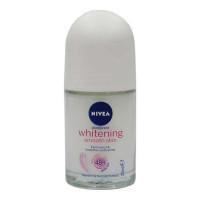 NIVEA WHITENING SMOOTH SKIN ROLL ON DEODORANT 25.00 Ml Bottle