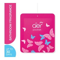 GODREJ AER POCKET PETAL CRUSH PINK PACKET