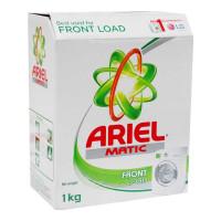 ARIEL MATIC FRONT LOAD DETERGENT POWDER 1.00 KG BOX